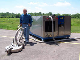 Power Wash System recovers and filters wastewater for reuse.