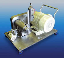 High Shear Mixer eliminates need for inline recirculation.