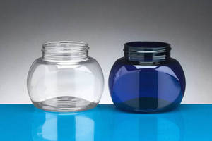 Oval Shaped Jar comes with 58/400 finish in PET.