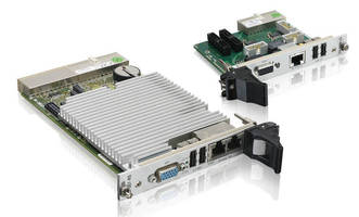 CompactPCI Processor Board comes with 4 SATA 3.0 Gb/s ports.