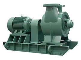 Double Suction Case Pumps come in 1,160 and 1,760 rpm.
