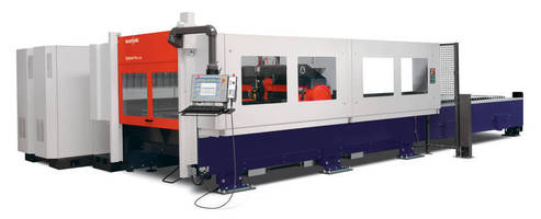 High-Speed Laser Cutting System utilizes 4.4 kW laser source.