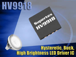 LED Driver is suited for solid state lighting systems.
