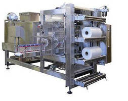 Dairy Shrink Bundling System suits washdown environments.