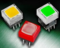 Subminiature Tactile Switches offer full face illumination.