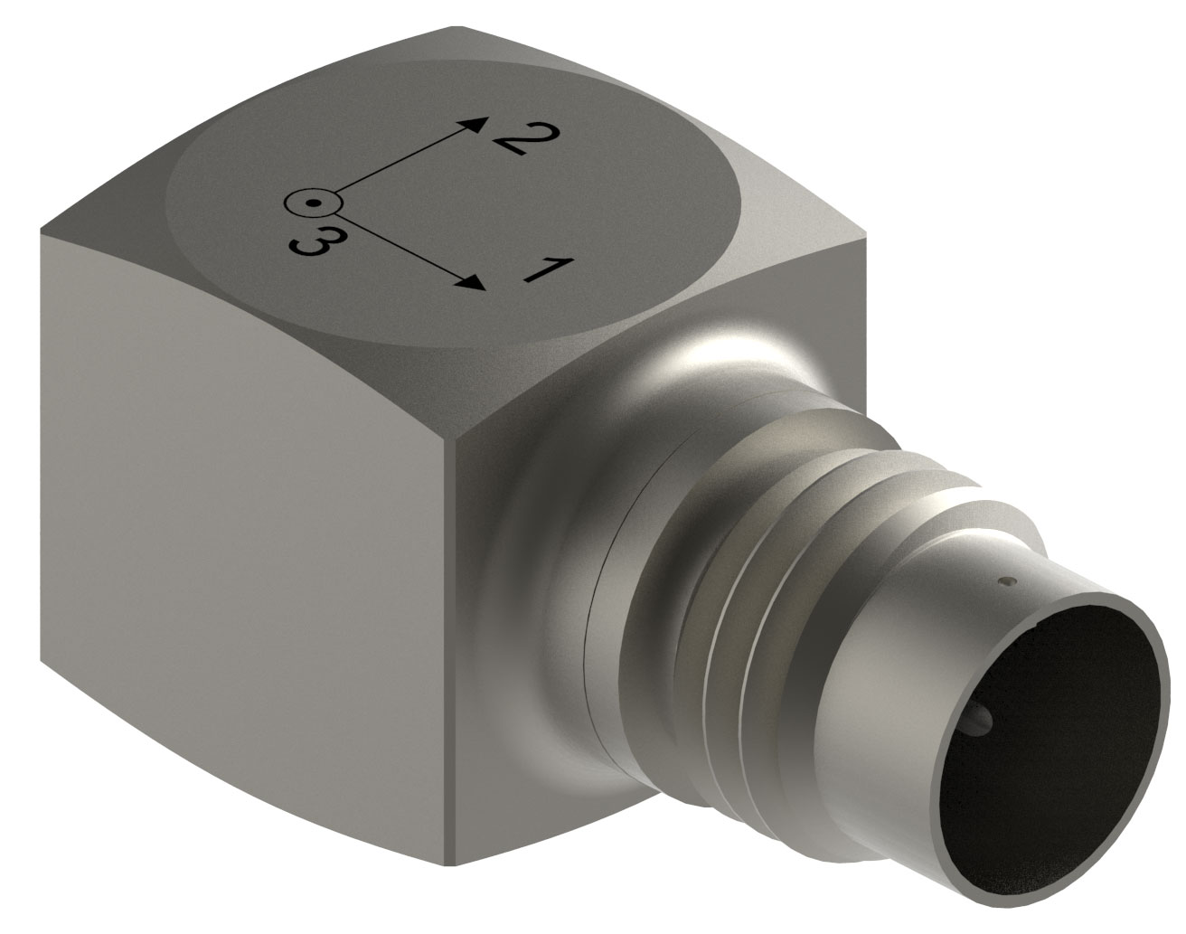Triaxial Accelerometer is designed for modal analysis.