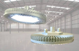 LED Luminaire suits industrial and hazardous locations.