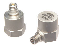 IEPE Accelerometers can withstand ±10,000 g overshock.