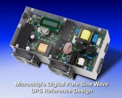 Microchip Technology's Pure Sine Wave Uninterruptible Power Supply (UPS) Reference Design Demonstrates Digital Power Advantages