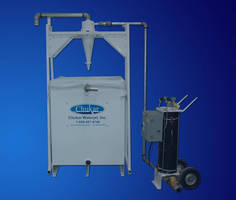 Waterjet Removal System clears 10 lb of abrasive/min.