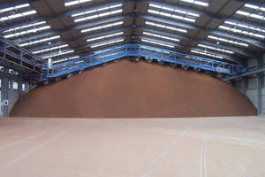 The Schenck Process MaxiStore Material Distribution Bridge Fills Storage Buildings from Floor to Roof