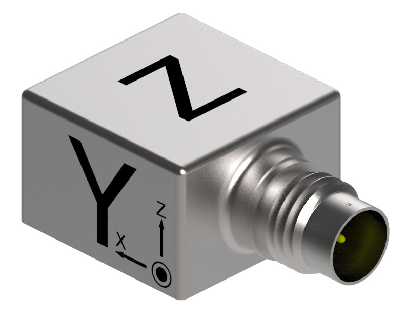 IEPE Triaxial Accelerometer suits modal analysis applications.