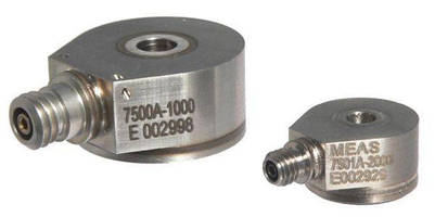 Piezoelectric Accelerometers enable through-hole mounting.