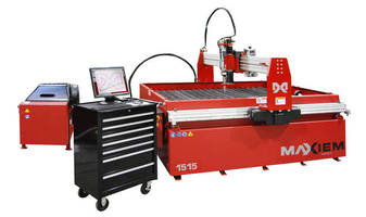 OMAX® Showcases MAXIEM(TM) Abrasive Waterjet Line at SOUTH-TEC