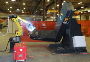 Wolf Robotics Integrates Fanuc Robots with Welding SmartPositioners