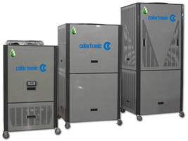 Portable Chillers come in air- and water-cooled models.