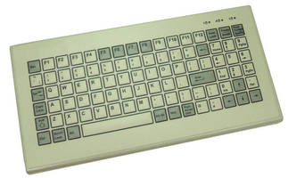 Industrial Keyboard features VESA mounting points.