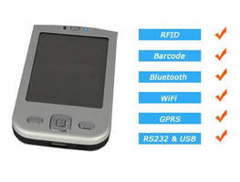 Mobile RFID Reader is available in LF or HF versions.