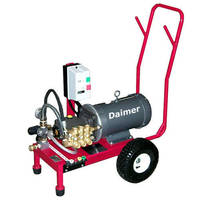 Cold Water Pressure Washers include wet sand blasting system.
