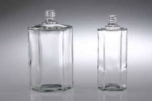 Flint Glass Bottles come with crimp finishes.