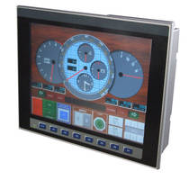 Touchscreen Control Panel has 3 RS-232/RS-485 ports.