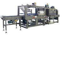 ARPAC's Continuous Motion 45TW-28 Tray Shrink Wrapper at Pack Expo Las Vegas Show, Booth #1000!