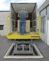 Dock Lifts are available in 5,000/6,000 lb capacities.