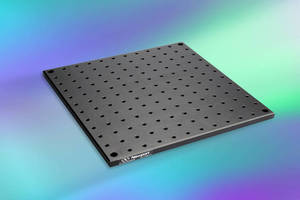 Aluminum Breadboards are suited for OEM optical assemblies.