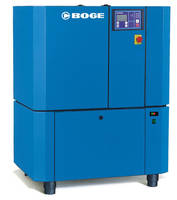 Compact Screw Compressors feature integral dryer.