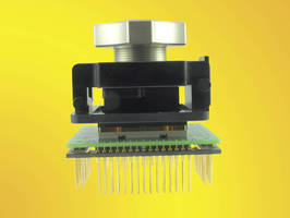Adapter allows prototyping of BGA ICs.
