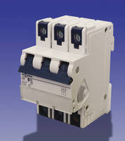 Miniature Circuit Breakers are offered in 1, 2, and 3 poles.