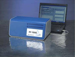 Viscometer requires only 50 µL sample size.