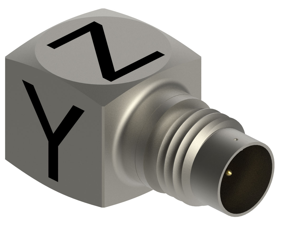 Miniature Triaxial Accelerometer suits modal analysis.
