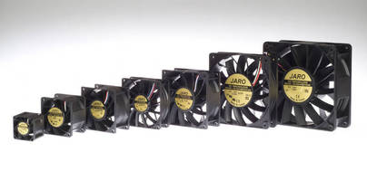 Brushless DC Fans feature fixed blade design.