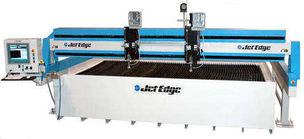 Metal Service Center Jacquet Installs 21 x13 ft Jet Edge Waterjet System