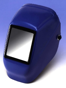 Welding Helmet is made of AMODEL(R) polyphthalamide.