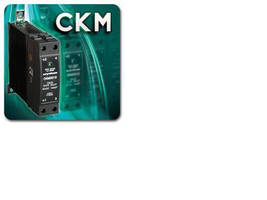 Solid State Relays mount on standard 35 mm DIN rail.