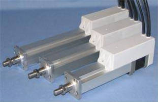 Electric Actuators are rated to 100 N maximum thrust.