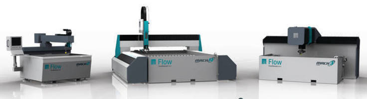 Flow Introduces Mach Series Waterjet Product Lines