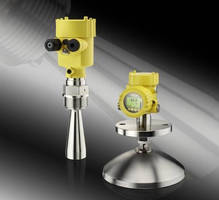Radar Level Transmitter detects high definition echo details.