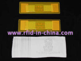UHF RFID Laundry Tag withstands -10 to +180°C temperatures.