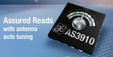 HF RFID Reader IC targets 13.56 MHz reader applications.