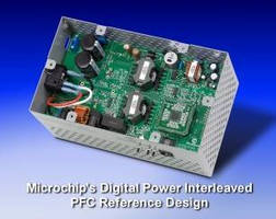 Microchip's Reference Design for Digital Interleaved Power Factor Correction (PFC) Increases Power Efficiency