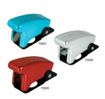 Toggle Safety Covers come in colors for easy identification.