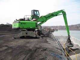 'Business Is Picking up!' at Lindy Paving with New Sennebogen Material Handlers