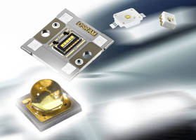 Compact Automotive LEDs are designed for DRL applications.