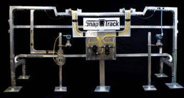 Snap Track Cable Tray and Turck Quick Disconnect Technology Reduce Installation and Commissioning Time