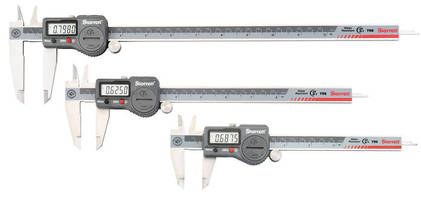 Electronic Caliper Series offers IP67 level of ingress protection.