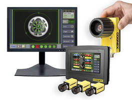 Touchscreen Operator Interface includes PC software option.