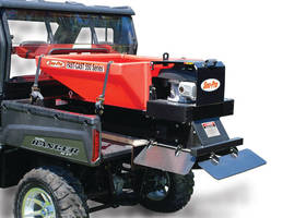 Salt/Sand Spreader enables efficient snow and ice control.